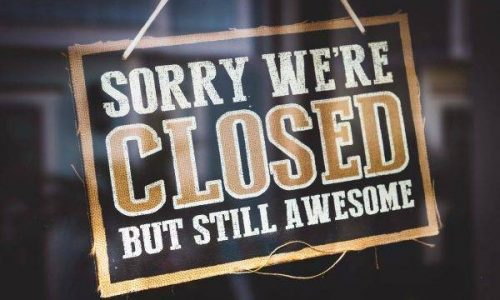 Sorry we are closed1 e1573750196281 500x300 - El final de las librerías no es culpa de Amazon