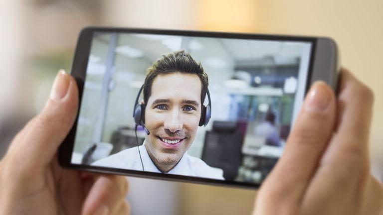 videoconferencia con cliente